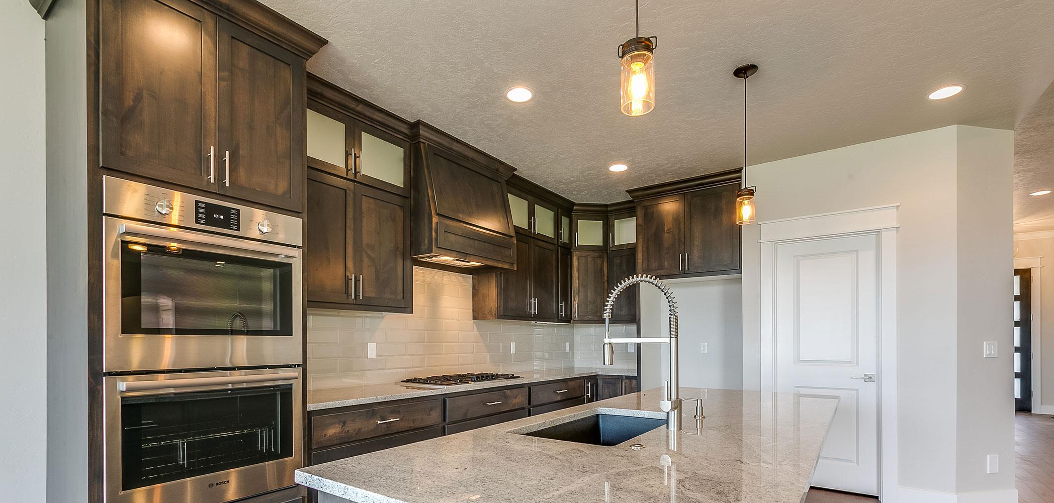 Custom Kitchen Cabinets Boise Idaho -  antler creek homes custom homes boise id